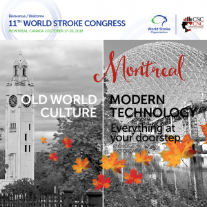 World Stroke Conference 2018